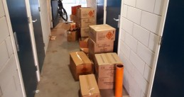 275 kilos of fireworks found at a home on Irene Vorrinkstraat in Hoofddorp, 17 Oct 2018