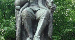 Statue of Johan van Oldebarnevelt, Lange Vijverberg, The Hague