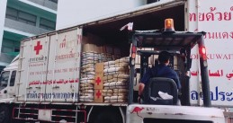 Red Cross supplies heading to Thailand as tropical storm Pabuk approaches, 3 Jan 2019