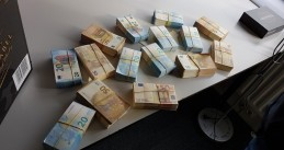 Counterfeit money seized in Almere, 30 Jan 2019