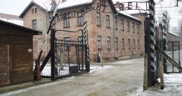Main gate Auschwitz concentration camp