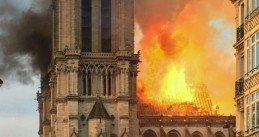 A devastating fire at Notre-Dame in Paris, 15 April 2019