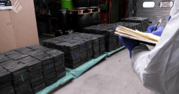 2,500 kilograms of crystal meth found in Rotterdam, June 2019
