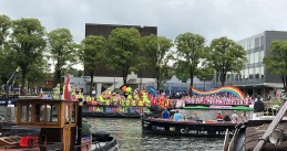 Canal Pride in Amsterdam, 3 August 2019