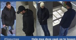 Suspect wanted for stealing €180,000 in diamonds from Designer Outlet Roermond, 29 December 2019