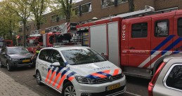 Firefighters and police respond to an Amsterdam Oost incident