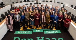 Den Haag City Council as of Nov. 30, 2018