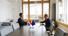 Mark Rutte and Donald Tusk