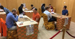 Checkers World Championships in the Ivory Coast, 1 Oct 2019