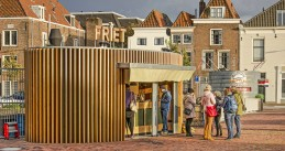 Fries shop in Middelburg, 9 Oct 2019