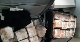 Cash seized in a Colombian cocaine investigation