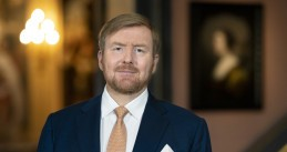 King Willem-Alexander at the presentation of his 2019 Christmas Speech