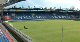 Willem II stadium in Tilburg