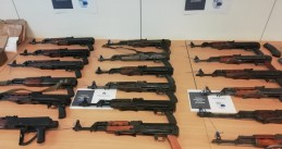Two Dutch arrested in a massive arms bust in Weelde, Belgium, 5 Ocotober 2020