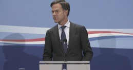 Mark Rutte at his regular weekly press conference on 9 October 2020