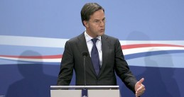 Mark Rutte at his regular weekly press conference on 30 October 2020