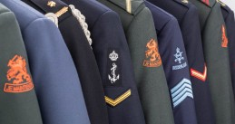 The uniforms of the Dutch military
