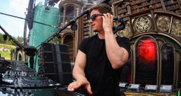 DJ Fedde le Grand playing on the main stage at Tomorrowland. 21 July 2019