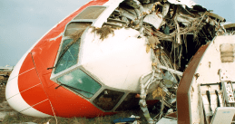 Martainair DC10 crashed in Faro, Portugal on 21 December 1992