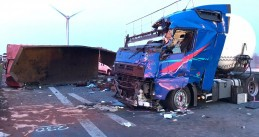 Drunk unlicensed Dutch truck driver, fatal accident in Germany