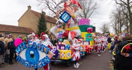 The Carnaval parade in Oldenzaal on February 7, 2016