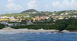View of Willemstad on Curacao
