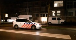 Police at a home on Burgemeester Mazairaclaan in Rosmalen where a woman was found dead on 14 February 2019