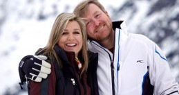 Queen Maxima and King Willem-Alexander in Lech, Austria, 25 February 2020
