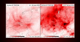 Nitrous oxide concentrations observed over the Netherlands after the coronavirus response