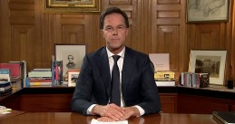 Mark Rutte addresses the nation on the coronavirus spread