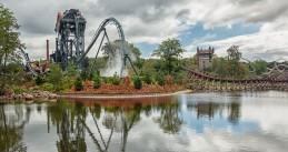 The Baron roller coaster at Efteling