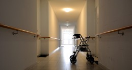 Nursing home corridor