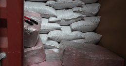 390 kilograms of cocaine in a cocoa bean shipment found at Rotterdam port. July 28, 2020