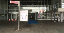 The GGD Amsterdam Covid-19 test site at the RAI convention center. 17 July 2020