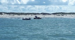 Emergency services search for a 14-year-old German girl who disappeared off the coast of Ameland on 11 July 2020