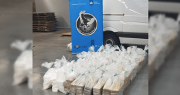 600 kilos of cocaine found at Rotterdam port in a chemical shipment from Brazil, 17 August 2020
