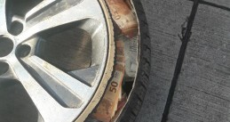 €350,000 in cash found hidden in the spare wheel of a Dutch car in Kolbenz, Germany, 4 February 2021