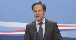 Mark Rutte during his regular weekly press conference on 5 Feb. 2021