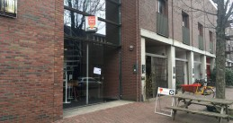 Amsterdam polling station for the 2021 parliamentary election