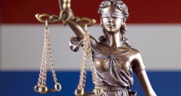 Lady Justice in Netherlands