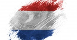 Artist's rendition of the Dutch flag