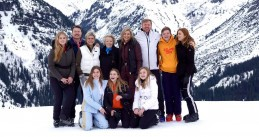 Royal Family in Lech 25 Feb 2020
