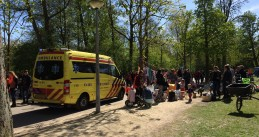 Ambulance King's Day Vondelpark Amsterdam